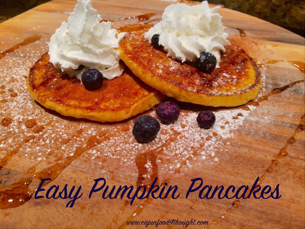 Here is the most Delicious & Easy Pumpkin Pancakes recipe you will ever find