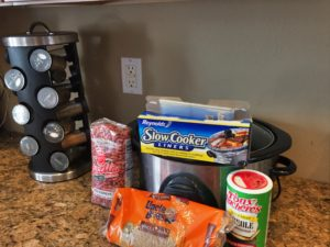Of course the Slow Cooker Liners are optional but they will save you a lot of cleanup time.